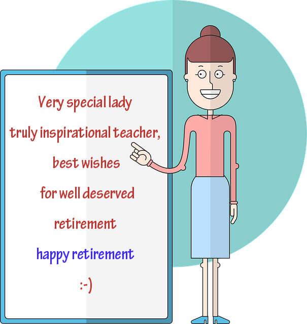 teacher retirement wishes