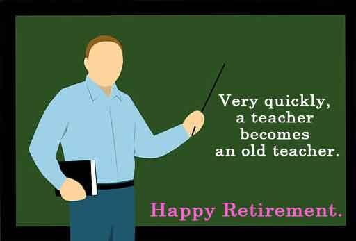 retirement sayings for teachers